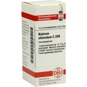NATRIUM CHLORATUM C 200 Globuli