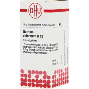 NATRIUM CHLORATUM D 12 Globuli