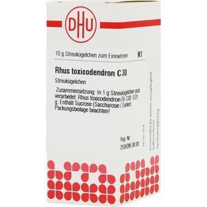 RHUS TOXICODENDRON C 30 Globuli