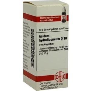 ACIDUM HYDROFLUOR D10