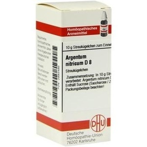 ARGENTUM NITR D 8