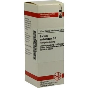 BARIUM CARBONICUM D 6 Dilution