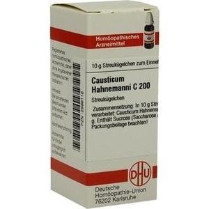 CAUSTICUM HAHNEMANNI C 200 Globuli