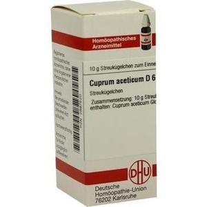 CUPRUM ACET D 6