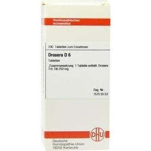 DROSERA D 6 Tabletten