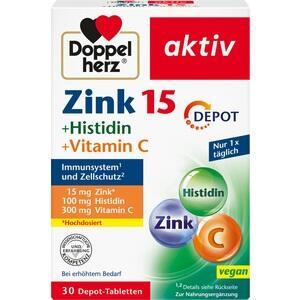 DOPPELHERZ Zink+Histidin Depot Tabletten aktiv