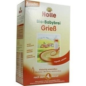 HOLLE Bio Babybrei Grieß