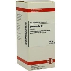 Ipecacuanha D4 Tabletten 200 ST DHU-Arzneimittel