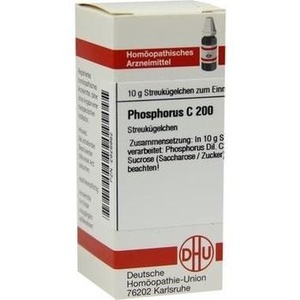 PHOSPHORUS C 200 Globuli
