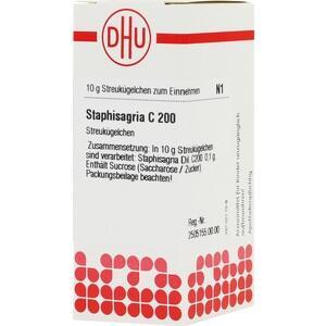 STAPHISAGRIA C 200 Globuli