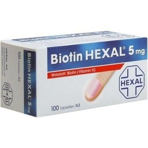 Biotin HEXAL 5mg Tabletten