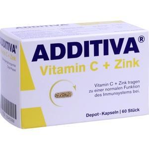 ADDITIVA® Vitamin C Depot 300mg Kapseln