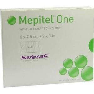 MEPITEL One 5x7,5 cm Silikon Netzverband