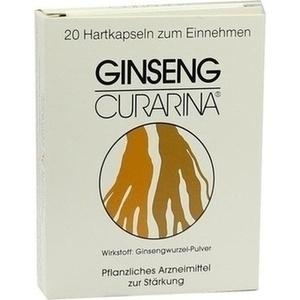 GINSENG CURARINA Kapseln