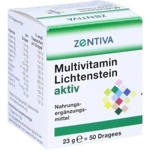 MULTIVITAMIN LICHTENSTEIN aktiv Dragees