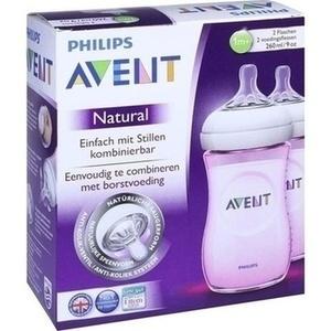 AVENT Flasche 260 ml Naturnah rosa