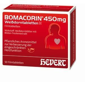 BOMACORIN 450 mg Tablete cu păducel N