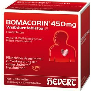 Bomacorin 450mg Weißdorntabletten N Filmtabletten