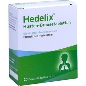 HEDELIX Husten-Brausetabletten