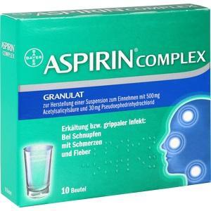 Abbildung von Aspirin Complex Beutel  Granulat