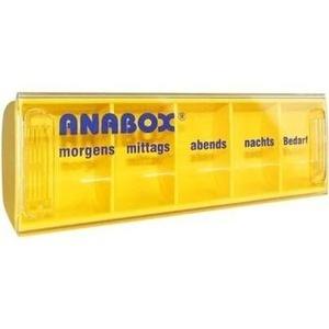 ANABOX Tagesbox farbig sortiert