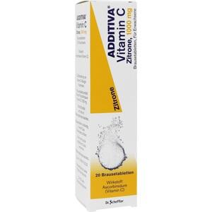 ADDITIVA Vitamin C 1 g Brausetabletten