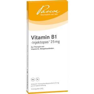 VITAMIN B1 INJEKTOPAS 25 mg Injektionslösung