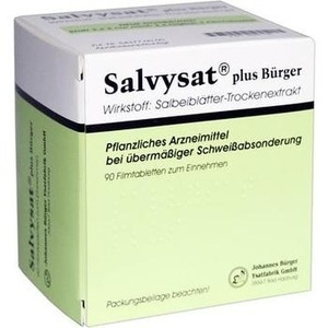 SALVYSAT plus Bürger 300 mg Filmtabletten
