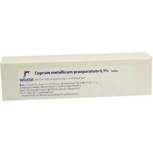 CUPRUM METALLICUM praep.0,1% Salbe