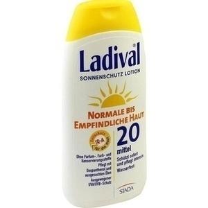 LADIVAL norm.bis empfindl.Haut Lotion LSF 20