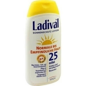LADIVAL normale bis empfindliche Haut Lotion LSF 25