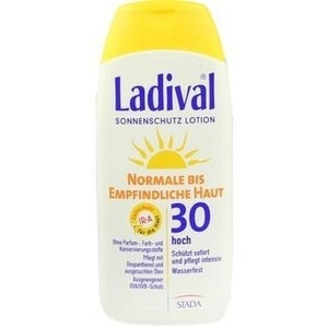 LADIVAL normale bis empfindliche Haut Lotion LSF 30