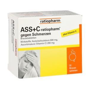 ASS + C ratiopharm gg.Schmerzen Brausetabletten