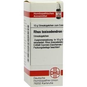 RHUS TOXICODENDRON C 6 Globuli