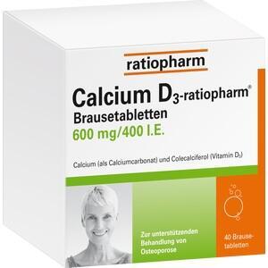 CALCIUM D3-ratiopharm Brausetabletten