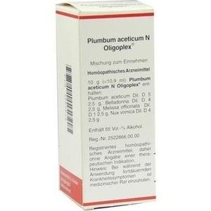 PLUMBUM ACETICUM N Oligoplex Liquidum