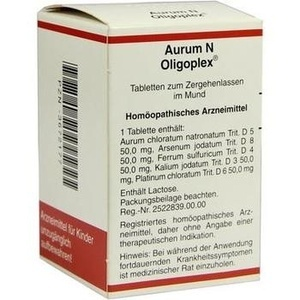 AURUM N Oligoplex Tabletten