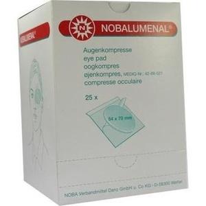 NOBALUMENAL Augenkompr.54x70 mm steril