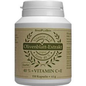OLIVENBLATT Extrakt forte 40%+C+E Kapseln