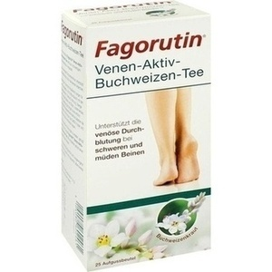 FAGORUTIN Venen-Aktiv-Buchweizen-Tee Filterbeutel