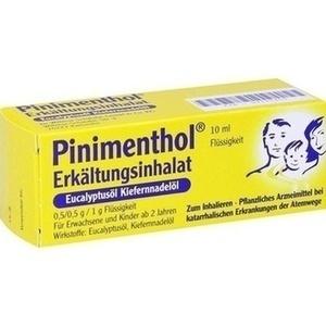 PINIMENTHOL Erkält.Inhalat Eucal.-/Kiefernadelöl