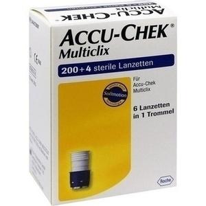 ACCU CHEK Multiclix Lanzetten