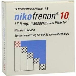 NIKOFRENON 10 transdermale Pflaster