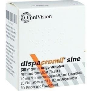 DISPACROMIL sine EDP Augentropfen