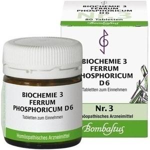 Biochemie 3 Ferrum Phosphoricum D6 Tabletten