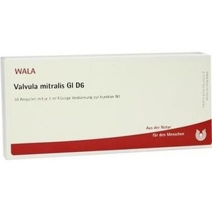 VALVULA mitralis GL D 6 Ampullen