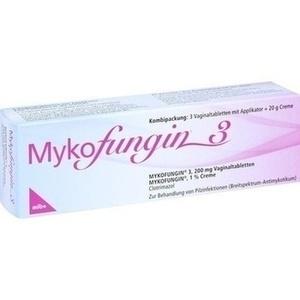 MYKOFUNGIN 3 Kombip. 3 Tabl. + 20 g Creme