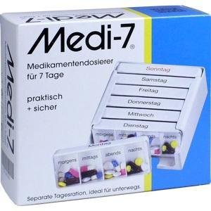 MEDI 7 Medikamentendos.f.7 Tage weiß