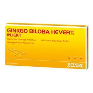 GINKGO BILOBA HEVERT Injekt Ampullen