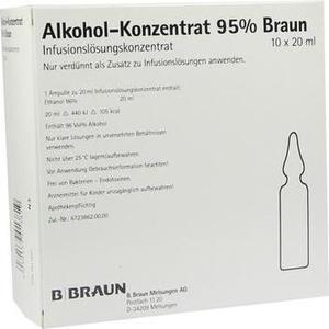 ALKOHOL 95% Infusionslösungskonzentrat